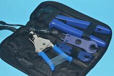 A-2546-B Solor MC4 Crimping / Stripping Solar Pv Tool Kit with Connector/spanner
