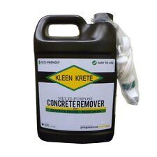 Concrete Remover 1 Gal Multipurpose Dried Mortar Dissolver Brick Wash Bottle New