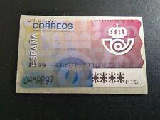 SELLOS ADHESIVOS ESPAÑA MNH 1995 ATM AJUSTE SERIE BÁSICA