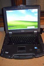 Military Dell Latitude E6400 XFR Intel Core 2 Duo 2.5GHz 4GB 500GB Windows XP