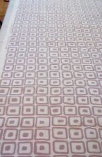 New Laura Ashley Pelham Amethyst Fabric Material (Geometric Design) Per Metre