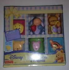 Disney Fisher Price Soft Blocks & Friends Winnie The Pooh Sealed 2005 Vintage