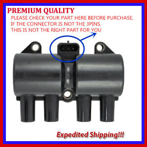 1PC UCE194A  IGNITION COIL UF503 96253555 For DAEWOO CHEVROLET 1.6L 1.8L 2.0L L4