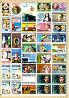 MAD Sheet of 50 Comedy Stamps