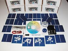 Learn to build your own solar cells panels diy kit  Awesome for first time build