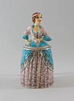 9941760 Ens/E.Bohne Porzellan Figur Bierkrug Lady Dame H21cm 0,3l