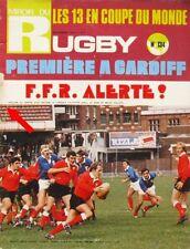Miroir du Rugby n°134 - 1972 - Premiere à Cradiff - La Touche à Martin - Guilhem