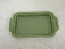 Vintage Olive Lustro Ware Soap Dispenser