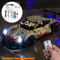LED Lighting Kit For LEGO 42083 Bugatti Chiron Technic USB Race Car Light Sets