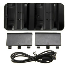 Dual Charging Dock Controller Charger +2x Rechargeable Batteries For Xbox One US