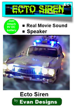 Ghostbusters ECTO Lights and Siren. Modify your own model or R/C car! 15 LEDs!