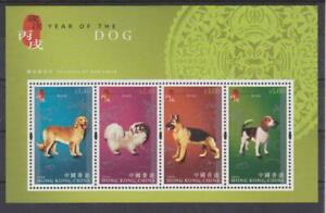 2006 Hong Kong SC# 1172b-New Year of the Dog-Souvenir Sheet -M-NH