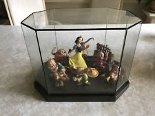 WDCC Snow White and the Seven Dwarfs Ornament Set LE Disney With Display Case!