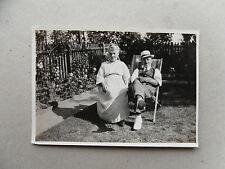 1920s/ 1924 B/W Photograph. Thomas & Agnes Quiddington (Grandparents of D. Cox)