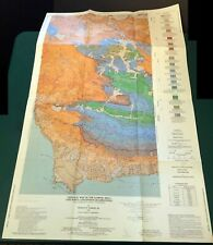 HTF Dibblee Geologic Map DF-18 LOMPOC HILLS & POINT CONCEPTION 1st printing 1988