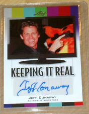 2011 Leaf Pop Century autograph Jeff Conaway GREASE TAX