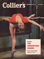 1947 Colliers September 27-Fredonia NY Spiritism, Seances; Cleveland Browns