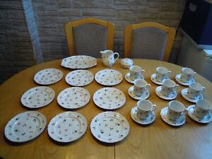Villeroy & Boch Petite Fleur Kaffeeservice 9 Personen