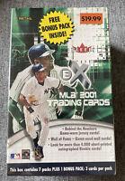 2001 Fleer Ex Baseball Factory Sealed Box Derek Jeter MLB Cards Packs