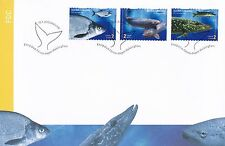 Finland 2003 FDC - Fishing Fish Pike Bream Lake Trout - Issued Jan 15, 2003