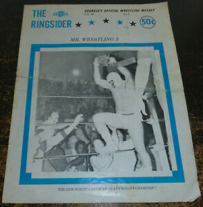The Ringsider Vol.79 1970's NWA Georgia Championship Wrestling Mr. Wrestling II