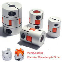 Flexible Plum Shaft Coupling Stepper Servo Motor Encoder Coupler CNC 3D Printer