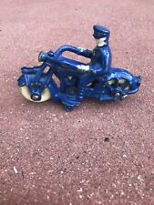1930's Champion Hubley Motorcycle Blue Stunning Paint