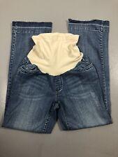 Motherhood Maternity Medium Full Belly Stretch Medium Wash Jeans