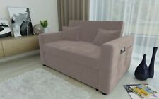Living Room Solid Contemporary Two Seater Sofa Beds