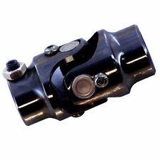 "Universal Black Steel Steering Shaft U Joint 3/4-36 Spline To 1"" DD"