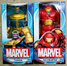"MARVEL UNIVERSE AVENGERS 6"" BASIC THANOS & HULKBUSTER ARMOR FIGURES BOXED"