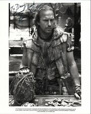 Kevin Costner. Authentic autograph. Signed Waterworld promotional still.