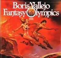 BORIS VALLEJO 1988 CALENDAR  FANTASY OLYMPICS .  Never used
