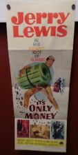 It's Only Money, Jerry Lewis Original 1962 U.S. A. Movie Poster, Very Good