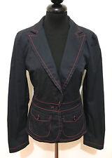 MOSCHINO VAQUEROS Chaqueta De Mujer Algodón mujer Algodon chaqueta Sz. S - 40