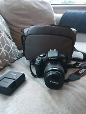 Canon EOS 1300D (W) 18MP DSLR Camera Kit with 18-55mm Lens, Carry Case + 16GB SD