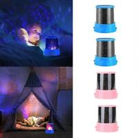Farbe LED Nachthimmel Projektor Lampe Kid Star Light Kreative Cosmos Master