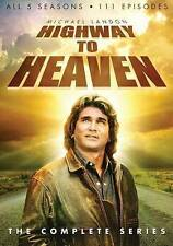 Highway to Heaven: The Complete Series (DVD, 2014, 23-Disc Set) CASE CRACKED
