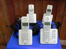 Philips Digital Cordless Phone SE 245 Quad with Answering Machine