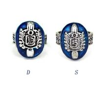 The Vampire Diaries Damon or Stefan Salvatore Ring Blue Cosplay & Gift Bag