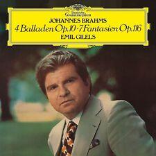 EMIL GILELS -4 BALLADEN OP.10+7 FANTASIEN OP.116   VINYL LP NEU BRAHMS,JOHANNES