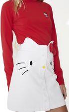Lazy Oaf X Hello Kitty denim Skirt  size S