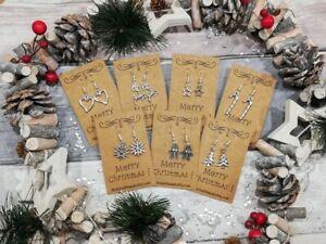 Christmas Earrings Christmas Jewelry Christmas Christmas Gift Holiday Earrings