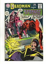 Strange Adventures Vol 1 No 214 Oct 1968 (VFN-)DC, Feat: Deadman, Neal Adams Art