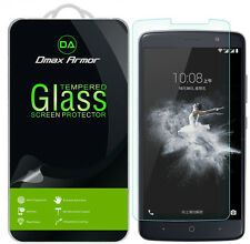 2X Dmax Armor for ZTE Max Blue LTE Tempered Glass Screen Protector