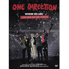 One direction 1D Where we are Live from San Siro Stadium NTSC DVD New