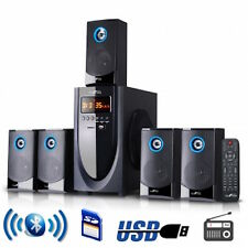 BeFREE 5.1 Surround Sound Theater Speaker System With FM Radio USB and SD Input