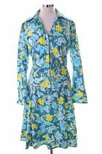 Daniel Hechter Womens Blazer Jacket Dress Suit Size 16 Medium Multi Floral