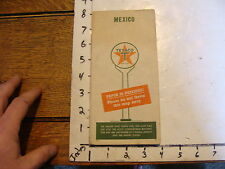 vintage Paper--1947 MEXICO Texico map
