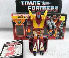 Transformers Original G1 1987 Targetmaster Hot Rod Complete w/ Box Print Correct